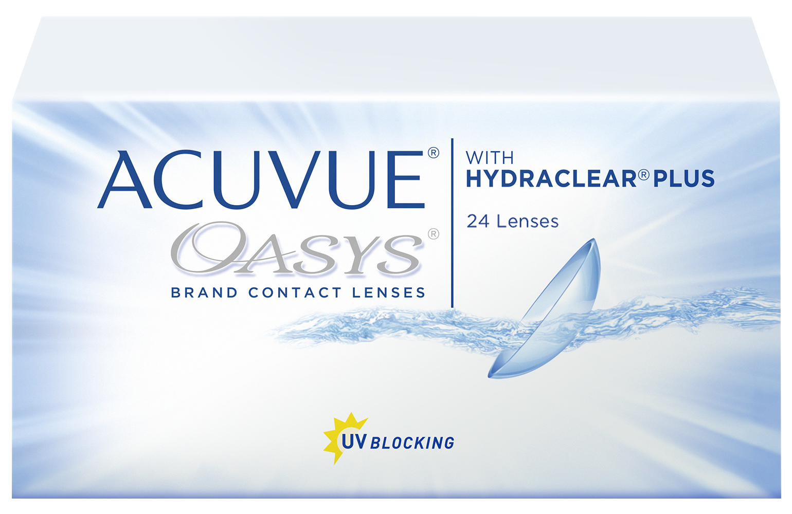 Линзы Acuvue Oasys With Hedraclear