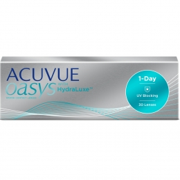 "ACUVUE OASYS 1-Day with HydraLuxe™ Technology 30 линз (""+"" диоптрии и радиус 9,0)"