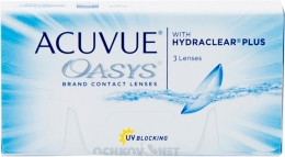 Acuvue Oasys with Hydraclear Plus 3 линзы